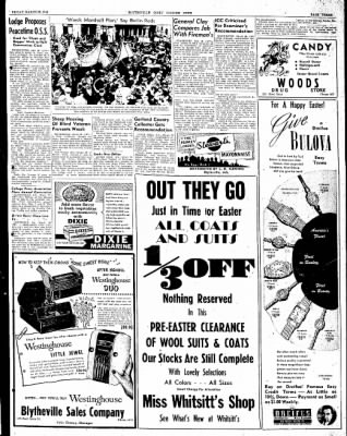 The Courier News from Blytheville, Arkansas on March 26, 1948 · Page 3