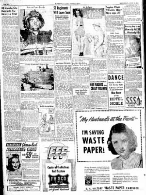 The Courier News from Blytheville, Arkansas on April 19, 1944 · Page 6