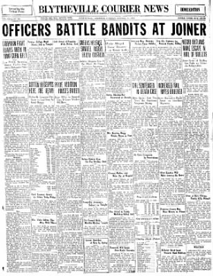 The Courier News from Blytheville, Arkansas on October 11, 1932 · Page 1