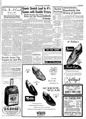 The Courier News from Blytheville, Arkansas on September 17, 1954 · Page 9