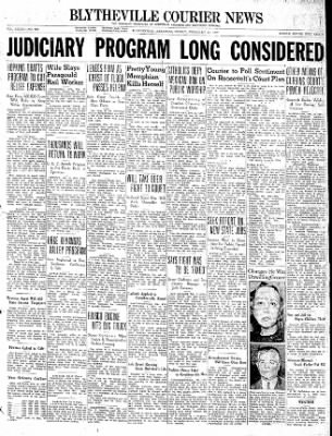 The Courier News from Blytheville, Arkansas on February 12, 1937 · Page 1