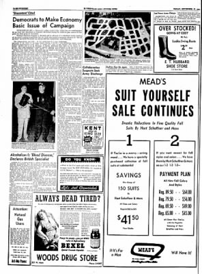The Courier News from Blytheville, Arkansas on September 17, 1954 · Page 14