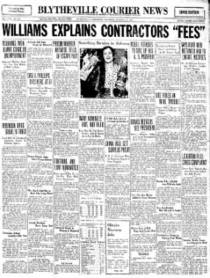 The Courier News from Blytheville, Arkansas on October 13, 1932 · Page 1