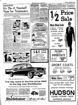 The Courier News from Blytheville, Arkansas on January 17, 1956 · Page 2