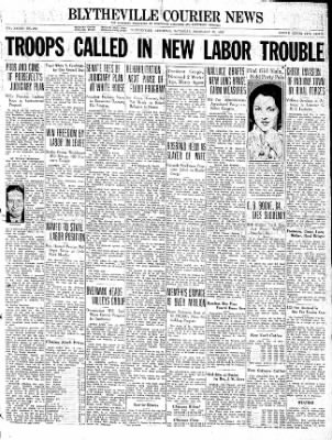 The Courier News from Blytheville, Arkansas on February 13, 1937 · Page 1