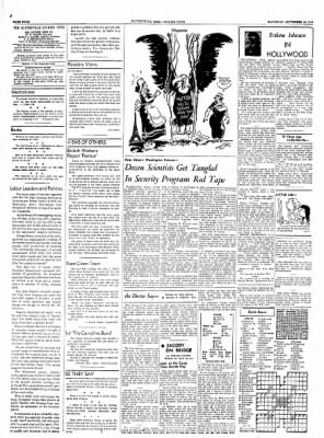 The Courier News from Blytheville, Arkansas on September 18, 1954 · Page 4