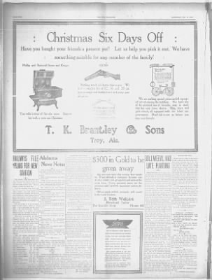 The Troy Messenger from Troy, Alabama on December 17, 1913 · 4