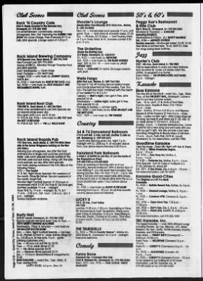 Quad City Times From Davenport Iowa On September 22 1994 66