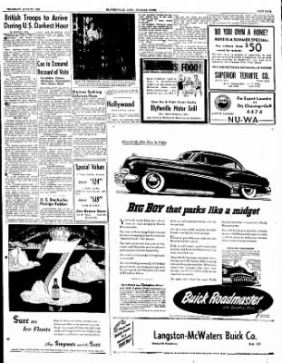 The Courier News from Blytheville, Arkansas on July 27, 1950 · Page 9
