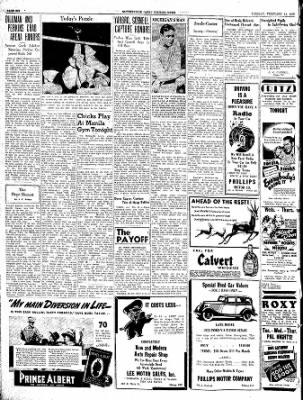 The Courier News from Blytheville, Arkansas on February 15, 1938 · Page 8