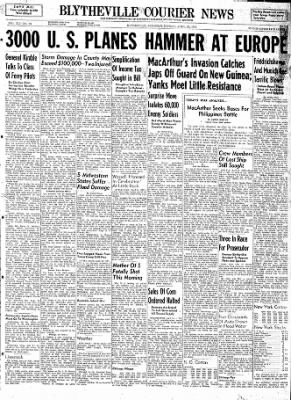 The Courier News from Blytheville, Arkansas on April 24, 1944 · Page 1