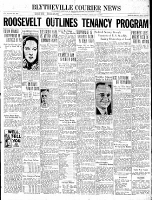 The Courier News from Blytheville, Arkansas on February 16, 1937 · Page 1