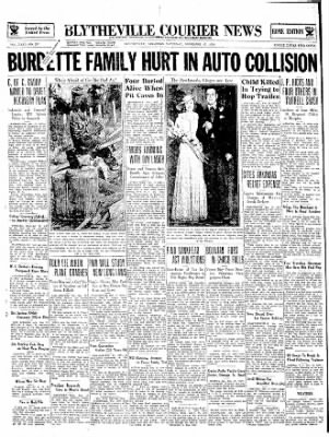 The Courier News from Blytheville, Arkansas on November 17, 1934 · Page 1