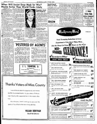 The Courier News from Blytheville, Arkansas on July 28, 1950 · Page 7