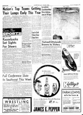 The Courier News from Blytheville, Arkansas on October 10, 1955 · Page 12