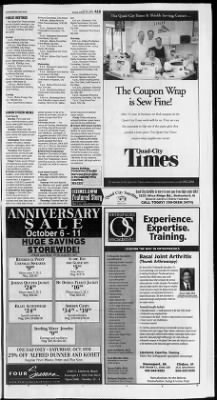 Quad-City Times from Davenport, Iowa on October 10, 2004 · 15