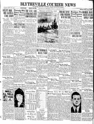 The Courier News from Blytheville, Arkansas on February 17, 1938 · Page 1