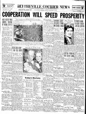 The Courier News from Blytheville, Arkansas on November 19, 1934 · Page 1