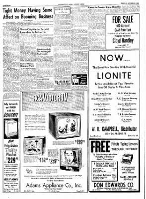 The Courier News from Blytheville, Arkansas on October 11, 1955 · Page 4