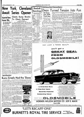 The Courier News from Blytheville, Arkansas on September 21, 1954 · Page 9