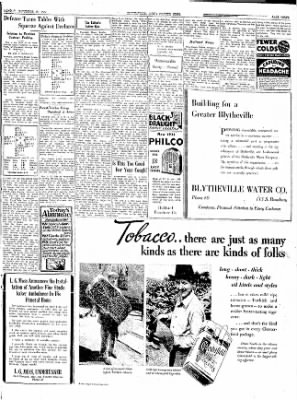 The Courier News from Blytheville, Arkansas on November 19, 1934 · Page 3
