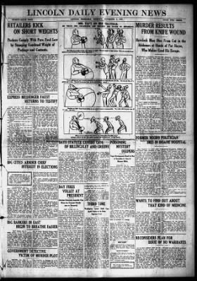 Lincoln Journal Star from Lincoln, Nebraska on November 5, 1907 · 1