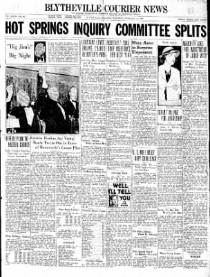 The Courier News from Blytheville, Arkansas on February 18, 1937 · Page 1
