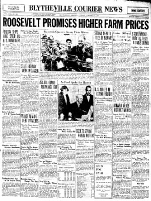 The Courier News from Blytheville, Arkansas on October 21, 1932 · Page 1