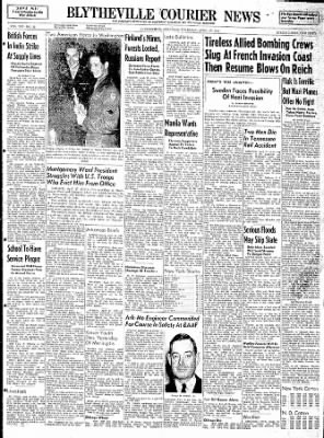 The Courier News from Blytheville, Arkansas on April 27, 1944 · Page 1