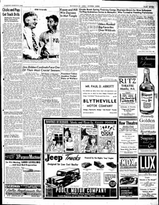 The Courier News from Blytheville, Arkansas on March 30, 1948 · Page 7