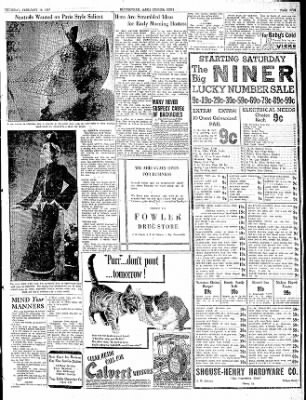 The Courier News from Blytheville, Arkansas on February 18, 1937 · Page 5