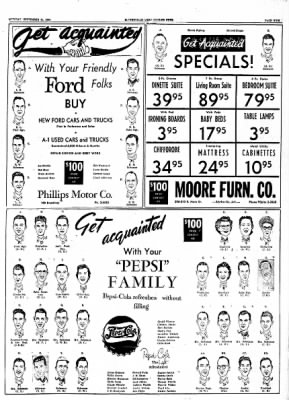The Courier News from Blytheville, Arkansas on September 21, 1954 · Page 21