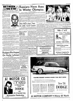The Courier News from Blytheville, Arkansas on January 20, 1956 · Page 7