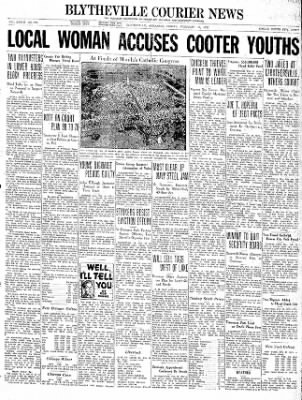 The Courier News from Blytheville, Arkansas on February 19, 1937 · Page 1