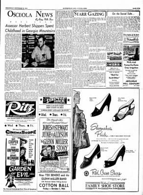 The Courier News from Blytheville, Arkansas on September 22, 1954 · Page 5
