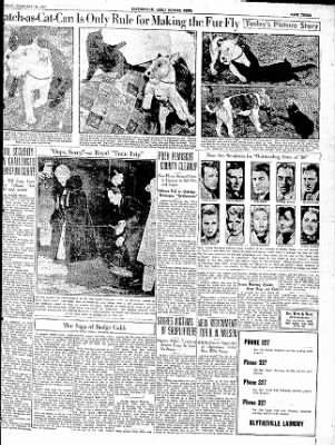 The Courier News from Blytheville, Arkansas on February 20, 1937 · Page 3