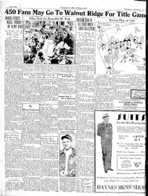 The Courier News from Blytheville, Arkansas on November 22, 1934 · Page 4