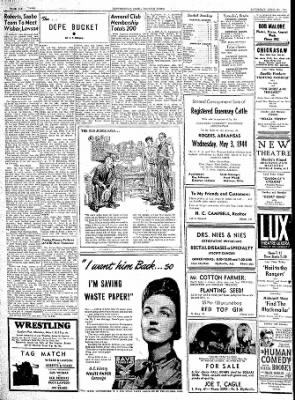 The Courier News from Blytheville, Arkansas on April 29, 1944 · Page 6