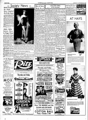 The Courier News from Blytheville, Arkansas on September 23, 1954 · Page 4