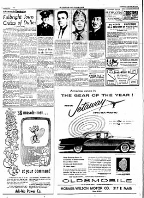 The Courier News from Blytheville, Arkansas on January 24, 1956 · Page 2