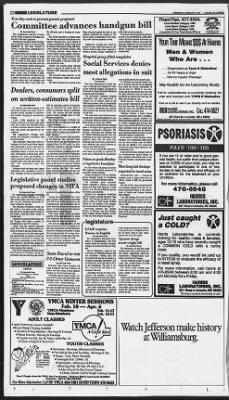Lincoln Journal Star from Lincoln, Nebraska on February 6, 1991 · 22