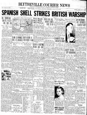 The Courier News from Blytheville, Arkansas on February 24, 1937 · Page 1