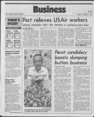 The Indianapolis News from Indianapolis, Indiana on October 9, 1992 · 50