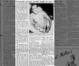 USS Indianapolis survivor recounts attack, sinking, survival in shark-infested waters