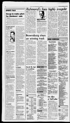 The Indianapolis News from Indianapolis, Indiana on February 19, 1992 · 43