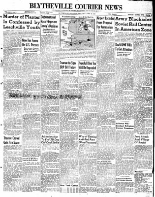 The Courier News from Blytheville, Arkansas on April 3, 1948 · Page 1