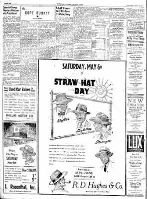The Courier News from Blytheville, Arkansas on May 4, 1944 · Page 6