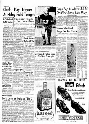 The Courier News from Blytheville, Arkansas on September 24, 1954 · Page 8
