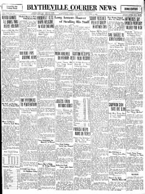 The Courier News from Blytheville, Arkansas on November 1, 1932 · Page 1