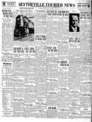 The Courier News from Blytheville, Arkansas on November 27, 1934 · Page 1